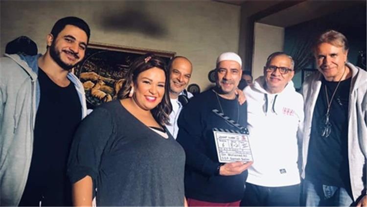 محمد سعد يبدأ تصوير المشاهد الأولى من فيلمه الجديد