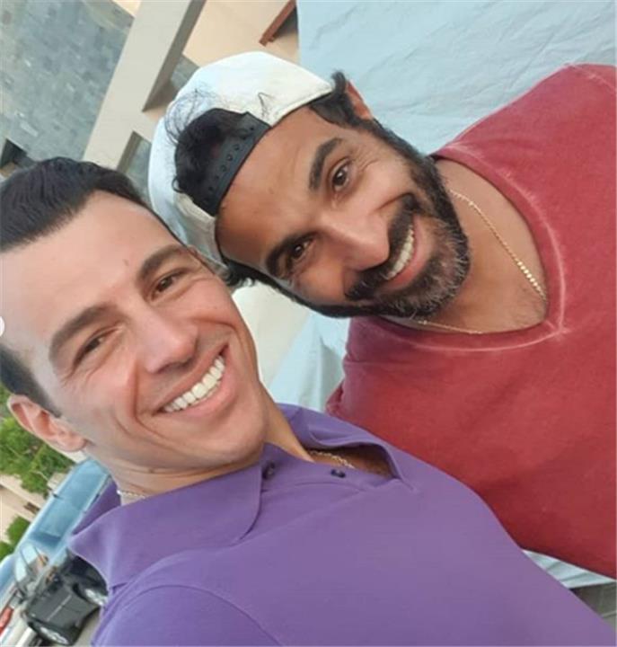 أحمد فهمي ورامي رضوان