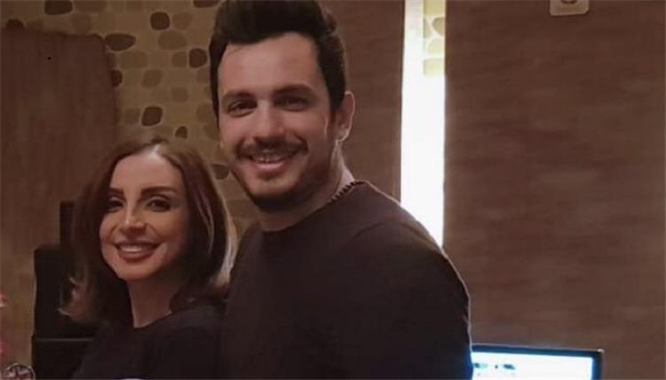 أنغام وأحمد إبراهيم في أول لقاء تلفزيوني بعد زواجهما