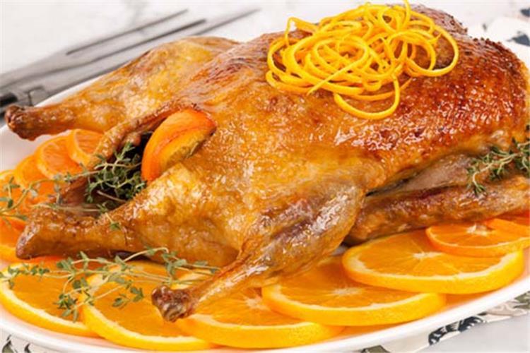 طريقة عمل البط بالبرتقال