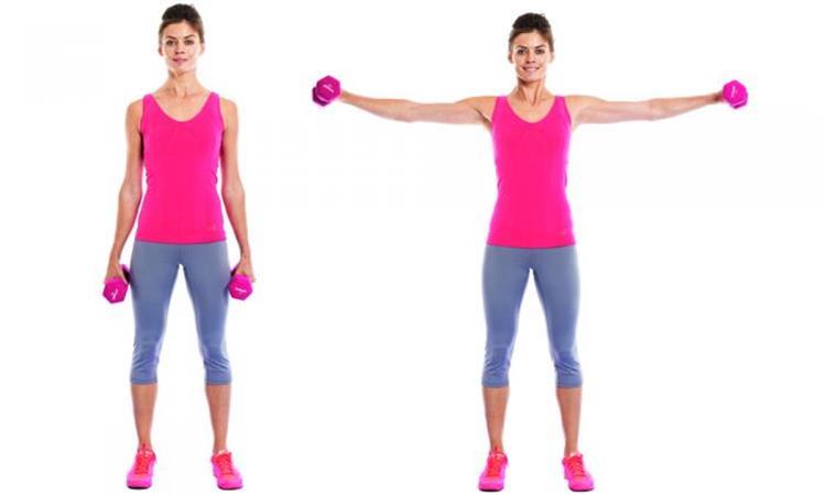 3 تمارين بسيطة لشد ترهلات الذراعين