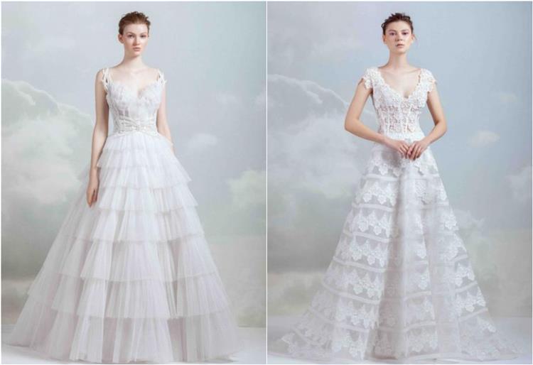 فساتين زفاف 2019 لجيمي معلوف بعنوان العروس الملكي