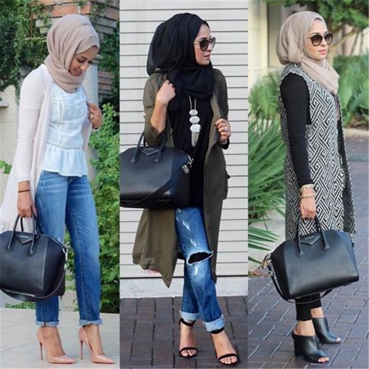 تألقى بالكارديجان الطويل مع الحجاب