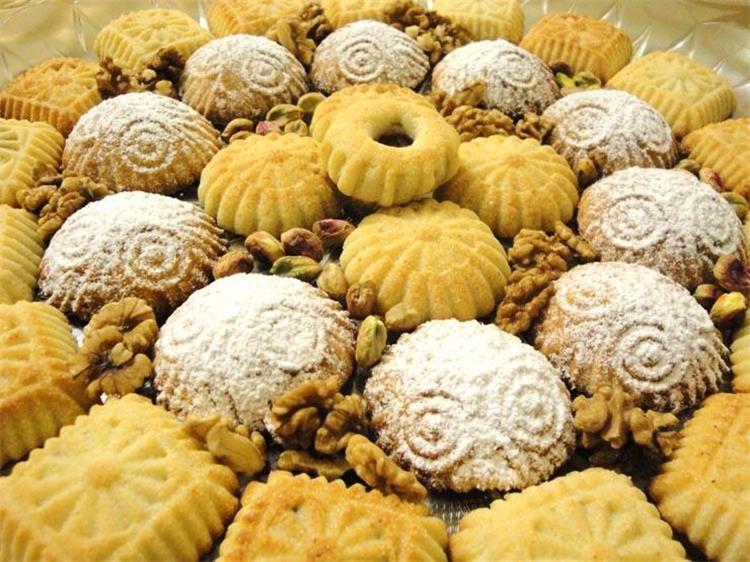 جدول السعرات الحرارية لحلويات العيد الكعك والبسكويت والبيتيفور