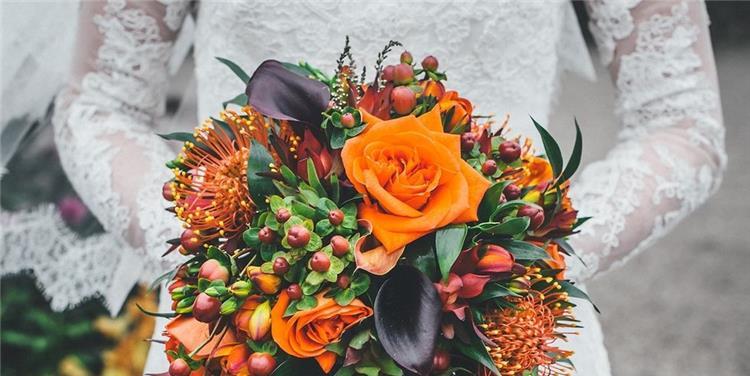 بالصور أشكال رائعة لبوكيه الورد لفوتوسيشن مذهل يوم الزفاف