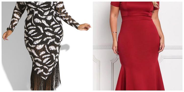 لسهرات الخريف نصائح مهمة لاختيار فستان يناسب الجسم الكيرفي
