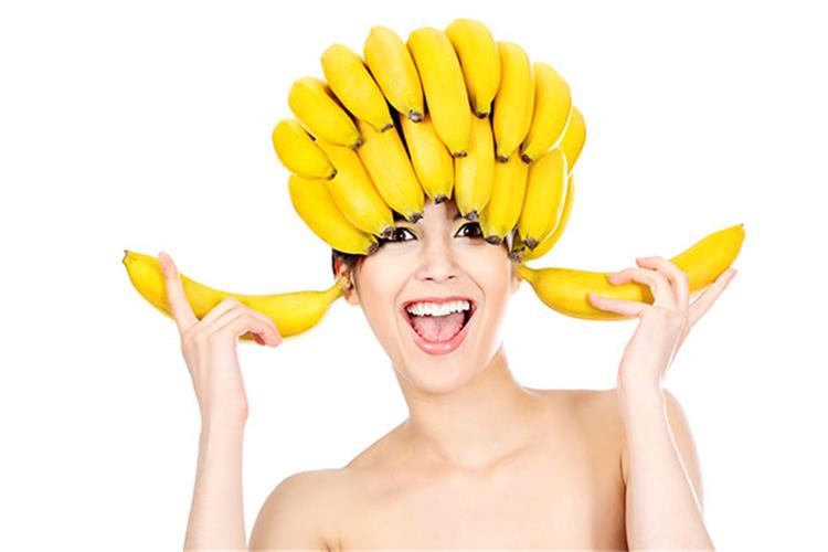 وصفات طبيعية بالموز لحل جميع مشاكل الشعر
