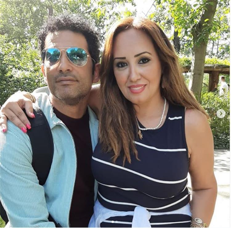 معلومات عن زوجة عمرو سعد بعد إعلان انفصالهما