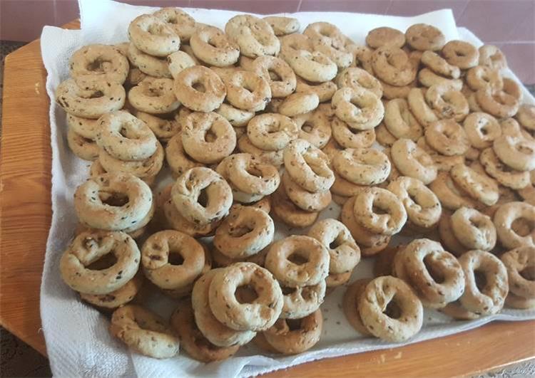 طريقة عمل الكعك الفلسطيني الاساور بزيت الزيتون