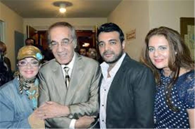 بسبب كورونا الفنانة شهيرة تتصرف هذا التصرف من اجل محمود ياسين