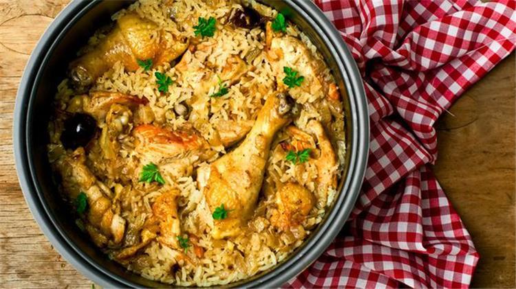 اكلات رمضانية جديدة تعلمي طريقة عمل كبسة الدجاج