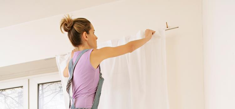 كيفية تنظيف ستائر البيت بسهولة