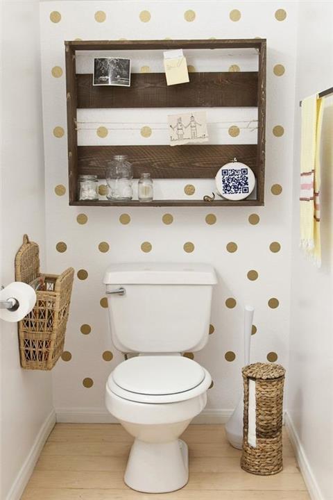 تصميمات حمامات تناسب المساحات الضيقة