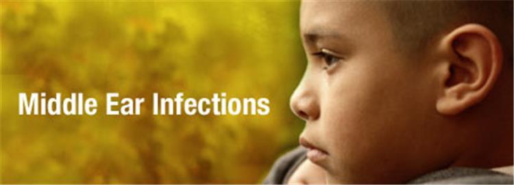 التهاب الأذن الوسطى عند الأطفال اسبابه وعلاماته