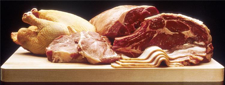 جدول السعرات الحرارية في اللحوم بانواعها
