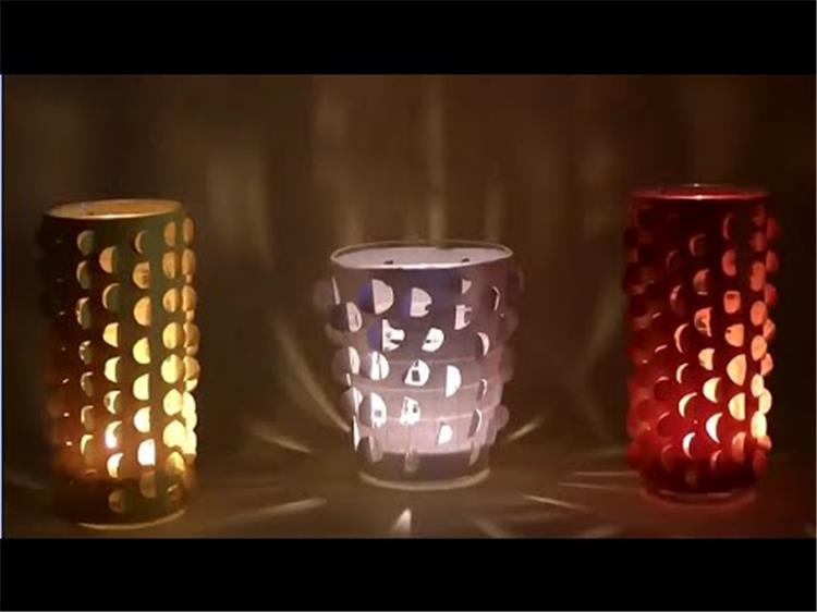 لليلة رومانسية 8 خطوات لعمل إضاءة ملونة بالشمع