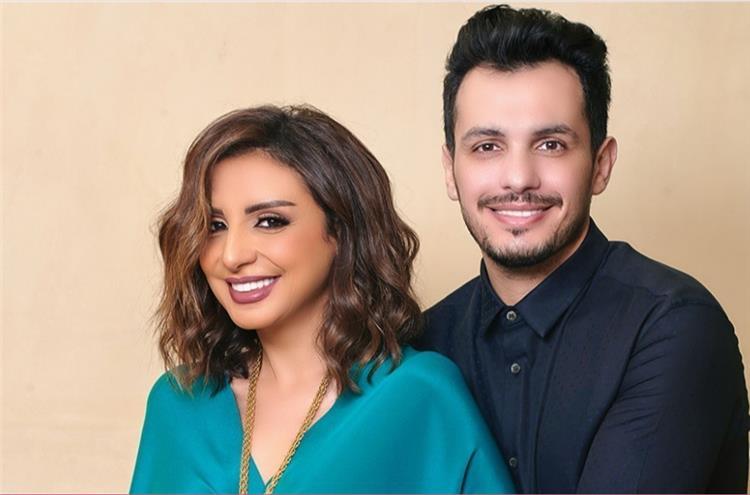 أنغام تنفي وجود مشاكل مع زوجها أحمد إبراهيم بهذه الرسالة الرومانسية