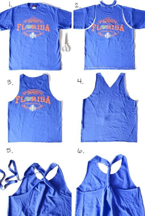 4 أفكار للاستفادة من ملابسك القديمة وإعادة تدويرها