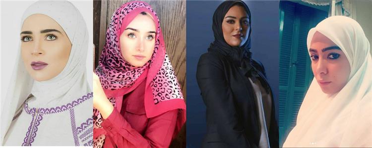 نجوم اختاروا الحجاب في مسلسلات رمضان احترام ا للشهر الكريم تعرفي عليهم