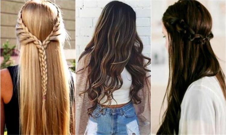 تسريحات الشعر الطويل أفكار ونماذج مختلفة