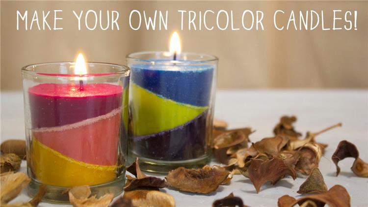 طريقة عمل شموع ملونة في البيت نفذيها بنفسك