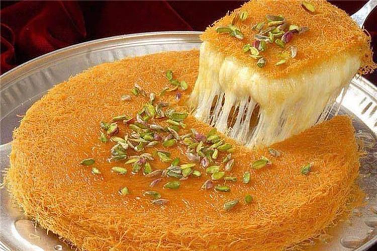 طريقة عمل كنافة نابلسية بالجبنة في رمضان