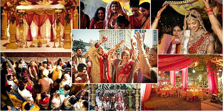 مراسم الزفاف في الهند