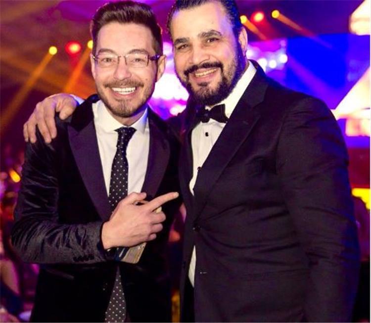 الفنان أحمد زاهر مع الفنان مجدي كامل