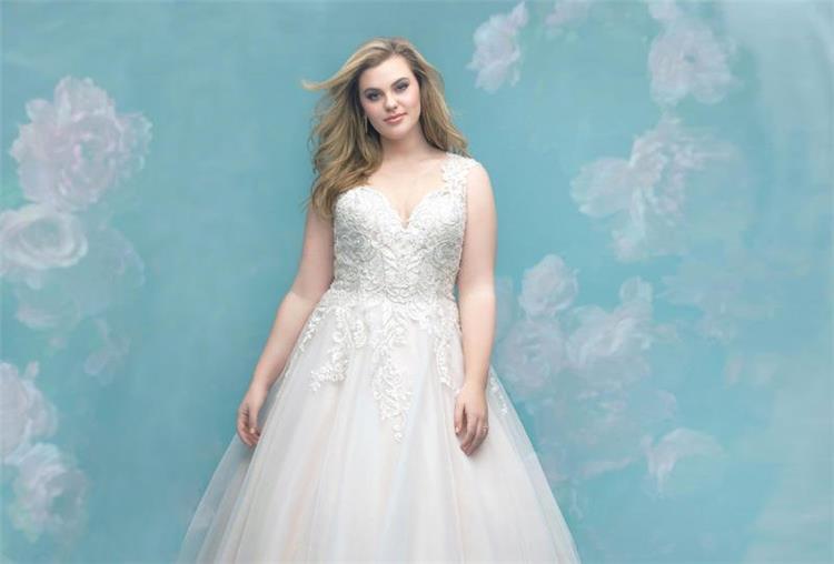 كيفية اختيار فستان زفاف يناسب العروس السمينة