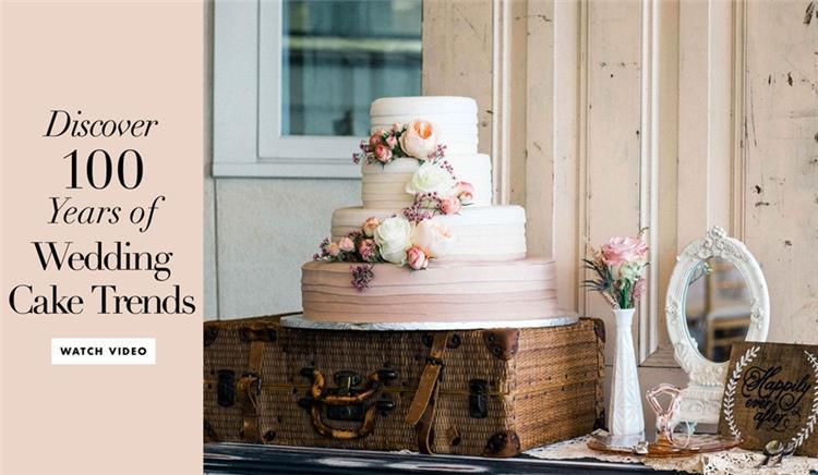 تاريخ صناعة تورتة الزفاف خلال 100 عام ومراحل تطورها