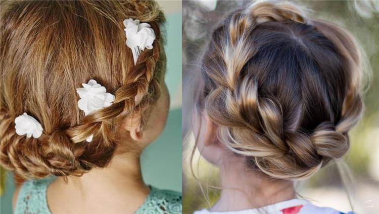 تسريحات شعر اطفال لإطلالة رقيقة ومبهرة