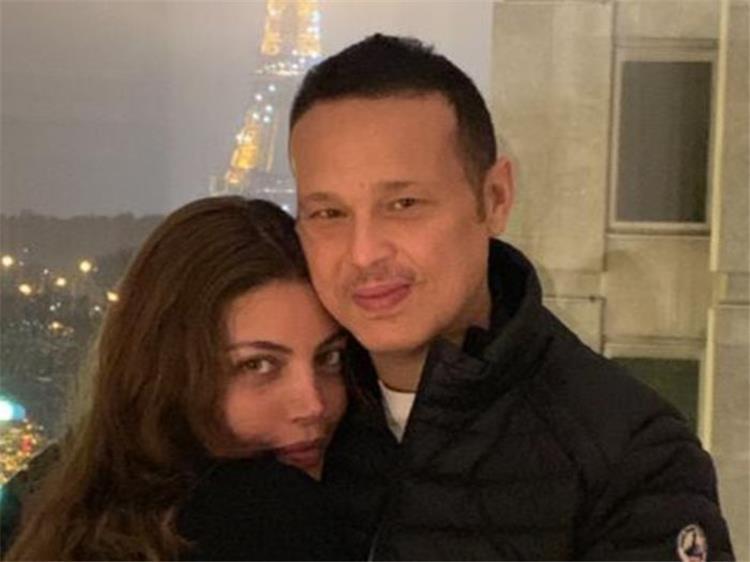 ريهام حجاج تحتفل بعيد ميلادها الـ33 في حضن محمد حلاوة