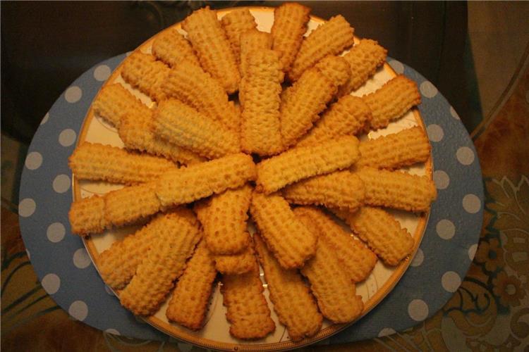 طريقة عمل بسكويت العيد بالبرتقال من نجلاء الشرشابي