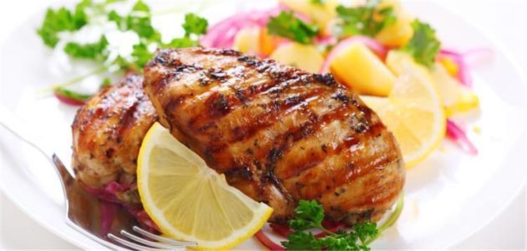 اكلات رجيم سهلة طريقة عمل الدجاج المشوي الدايت