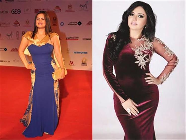 سما المصري تسخر من رانيا يوسف بفستان مقفول خطفت منك التريند