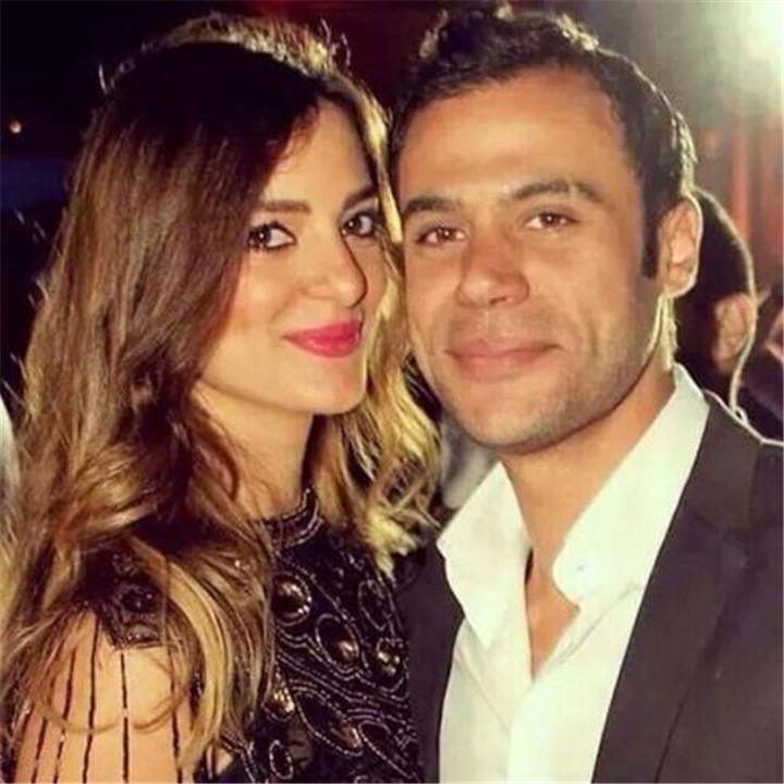 أول ظهور علني لزوجة محمد إمام منذ زواجهما حب ورومانسية أمام الجميع