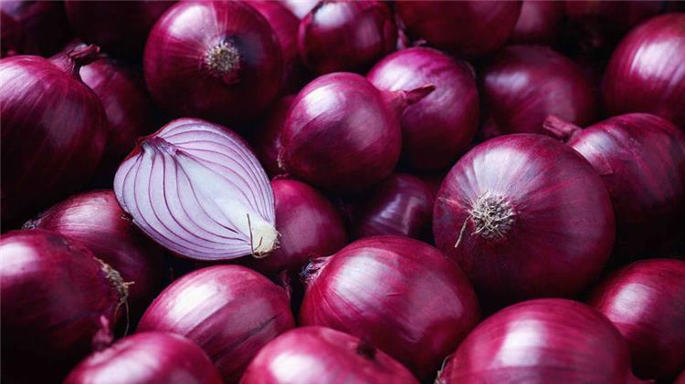 فوائد البصل الأحمر للحمل