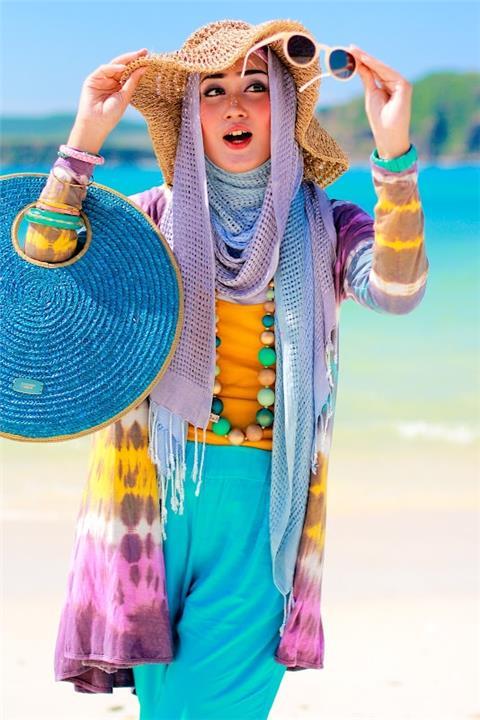 لفات حجاب أنيقة وسهلة تناسب الصيف