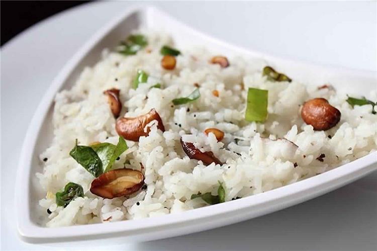 طريقة عمل الأرز بجوز الهند