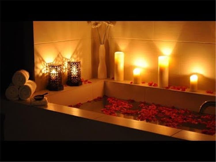 حضريلي الحمام طريقة تجهيز شاور رومانسي لزوجك ليلة الخميس