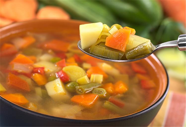 فوائد حساء الخضراوات
