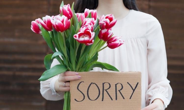 3 مواقف تأسف لها المرأة ليس بنية الاعتذار