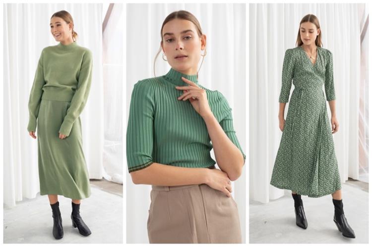 الأخضر الفستقي يغزو موضة ربيع 2019