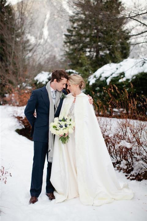 7 أسباب ترجح كفة إقامة حفل الزفاف في الشتاء عن الصيف
