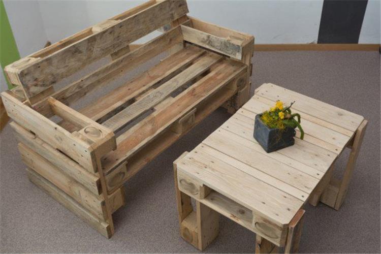 أفكار للتجديد من أدوات المنزل بإعادة تدوير الخشب القديم