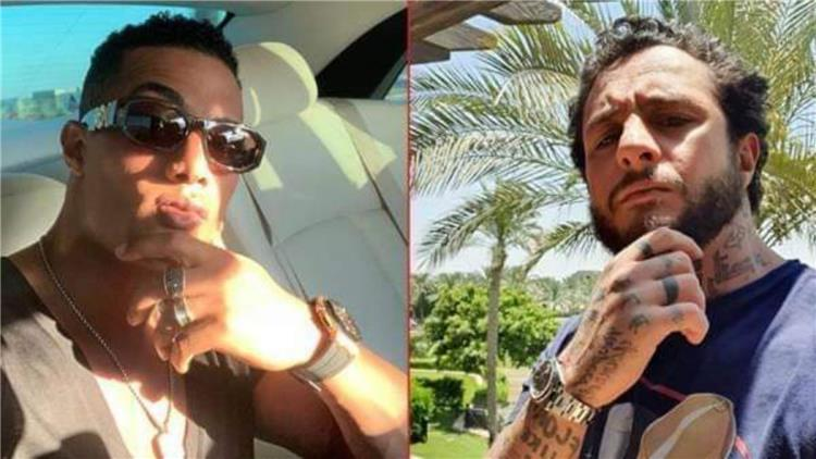 أحمد الفيشاوي يثير غضب محمد رمضان بسبب أفيش أغنية نمبر 2 ما الحكاية
