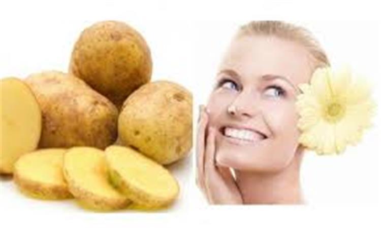 ماسك البطاطس الحل السحري للقضاء على الهالات السوداء تحت العين