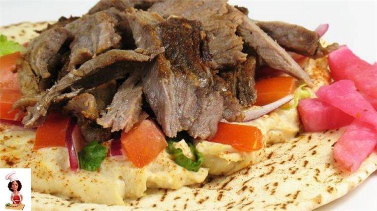 طريقة عمل شاورمة اللحم للشيف علاء الشربينى