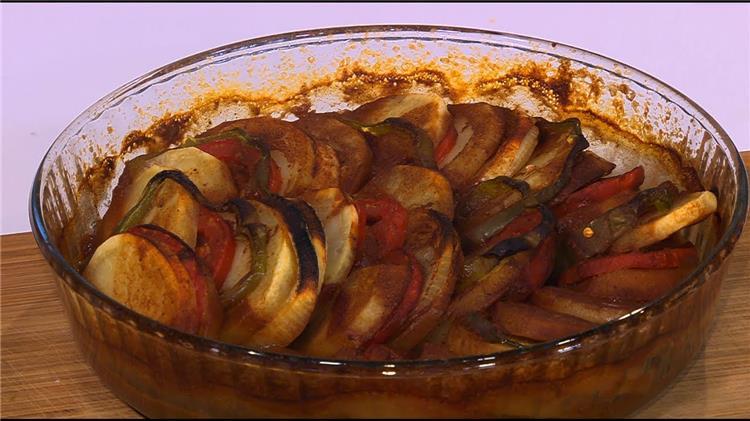 طريقة عمل صنية البطاطس فى الفرن دايت
