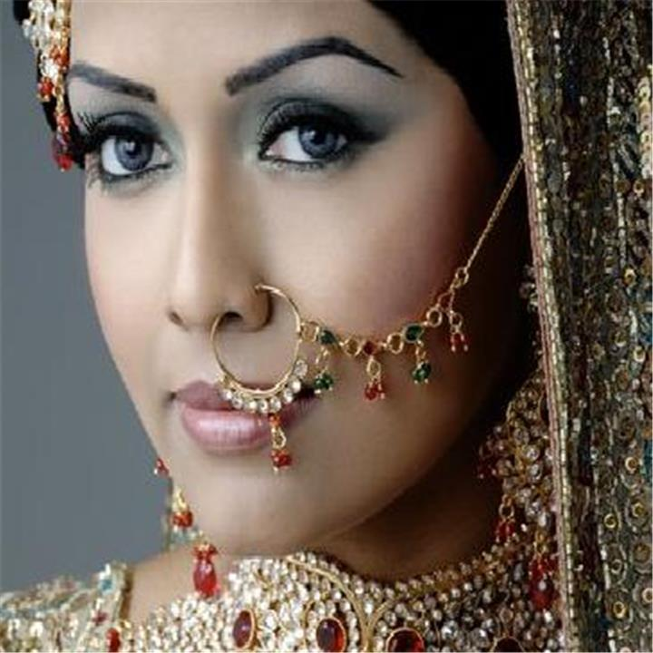 اكسسوارات العروسة الهندية مفيدة للصحة